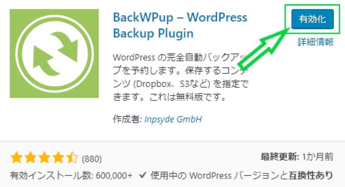 WordPress 管理画面の画像