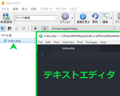 Cyberduck画面の画像